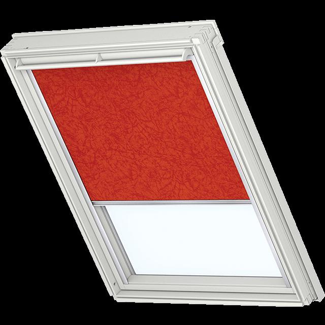 Velux Verdunkelungsrollo Farbe 5155 Muster rot