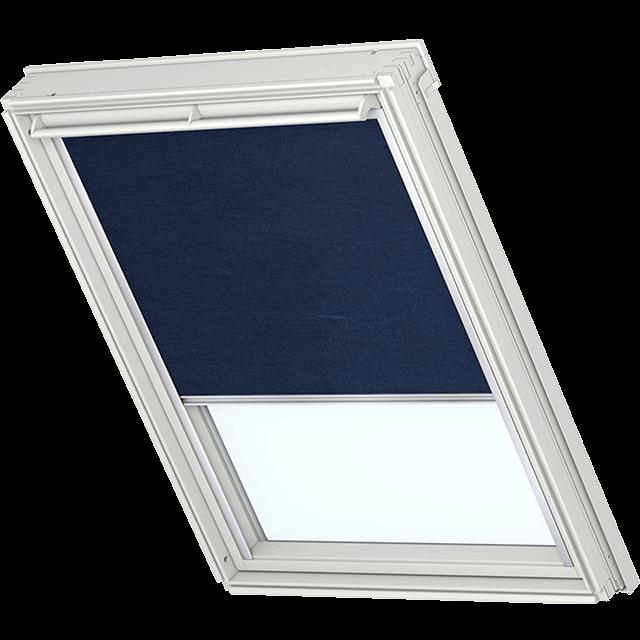 Velux Sichtschutzrollo mit seitlichen Führungsschienen Farbe: 9050