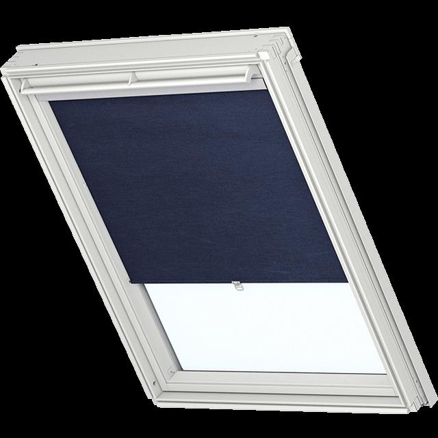 Velux Sichtschutzrollo ohne seitliche Führungsschiene Farbe: 9050