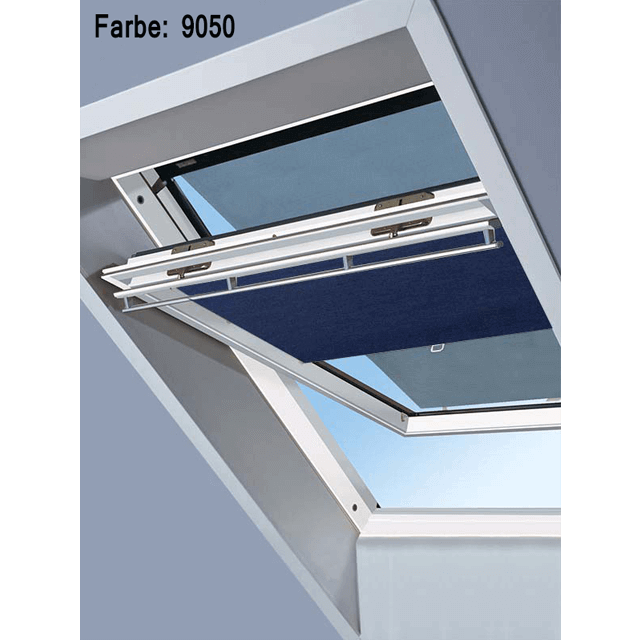 Velux Vorteils-Sets - Markise & Sichtschutzrollo Farbe: 9050 dunkelblau