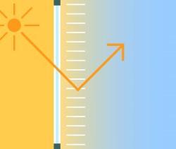 Teba® – JalouCity – Energie sparen mit Fensterdekoration – Optimale Ausnutzung des Tageslichtes