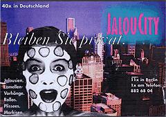 Werbung aus dem Jahr 1997: Bleiben Sie privat, Gurkenmaske