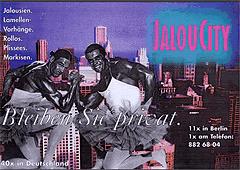 Werbung aus dem Jahr 1997: Bleiben Sie privat, Muckimänner im Ballett-Tutu