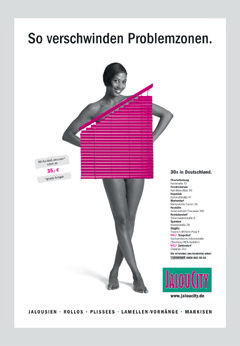 Werbung aus dem Jahr 2004: So verschwinden Problemzonen.