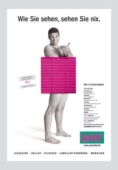 Werbung aus dem Jahr 2004: Wie Sie sehen, sehen Sie nix.