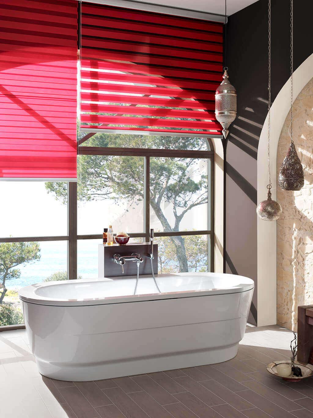 Sichtschutz Im Bad Plissees Und Rollos Fur Badezimmer