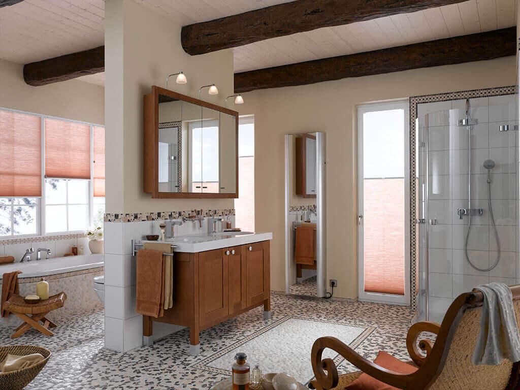 Dekorativer Sicht- Und Lichtschutz Fürs Badezimmer