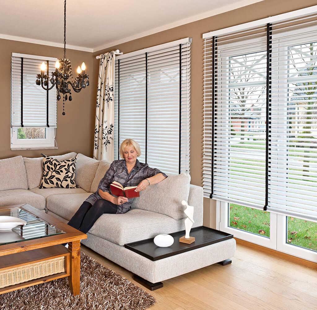 Jaloucity moderne fensterl sungen f r wohnzimmer for Fensterformen modern