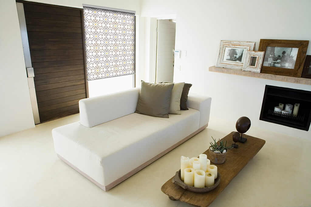 Sichtschutz im wohnzimmer moderne plissees gardinen und for Decoracion de living chicos