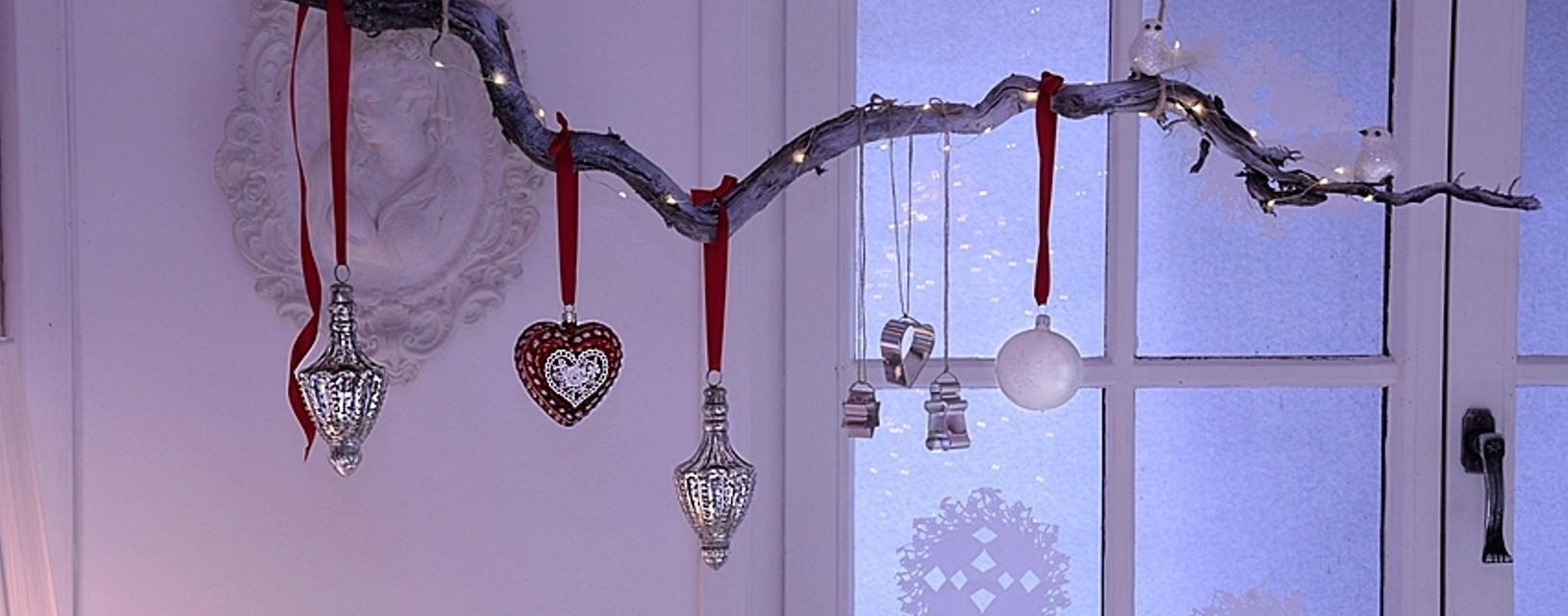 DIY - weihnachtliche Fensterdeko