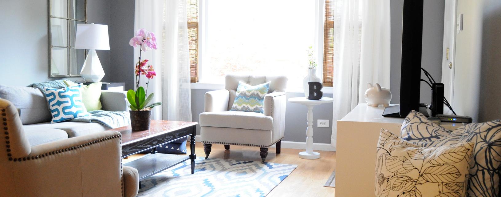 Textile Harmonie in Wohnräumen