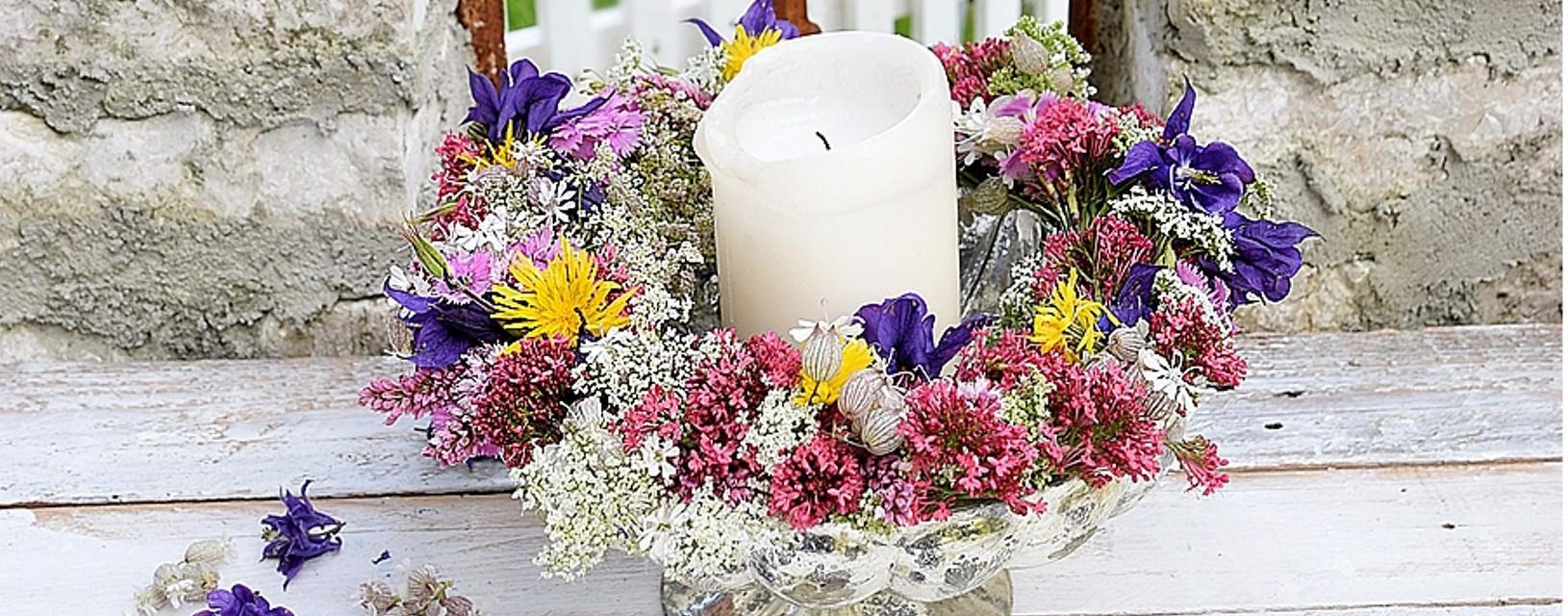 DIY-Anleitung Blumenkranz binden
