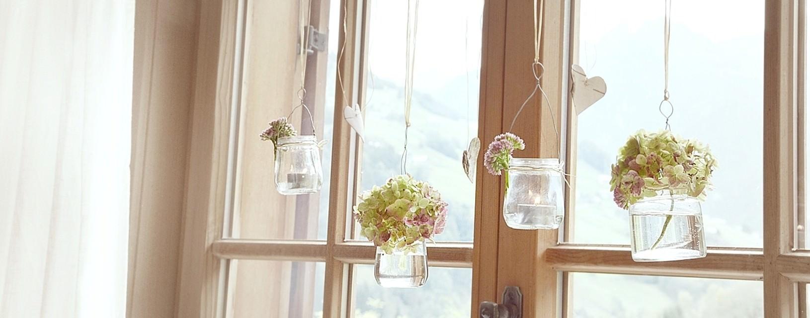 DIY - herbstliche Fensterdeko