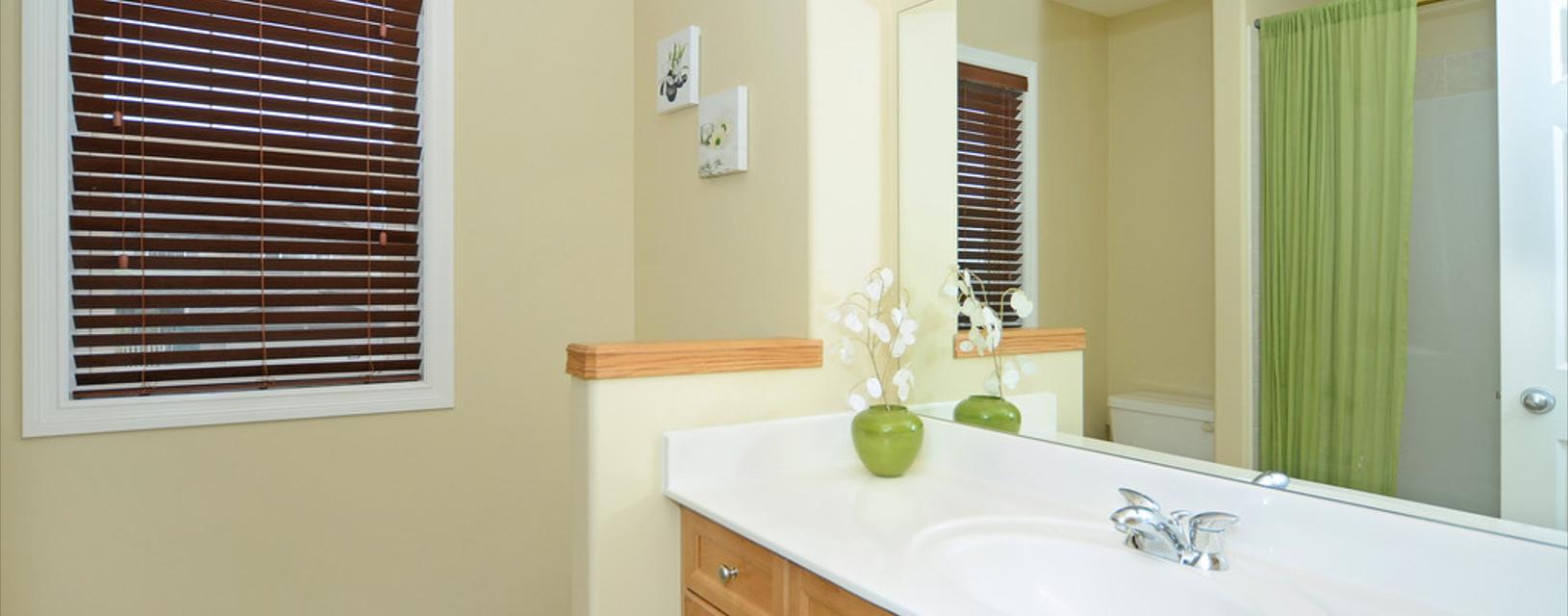 Fensterdekoration in Küche und Bad - funktional und schick