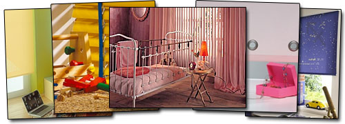 sch ner sicht und lichtschutz f r kinderzimmer. Black Bedroom Furniture Sets. Home Design Ideas