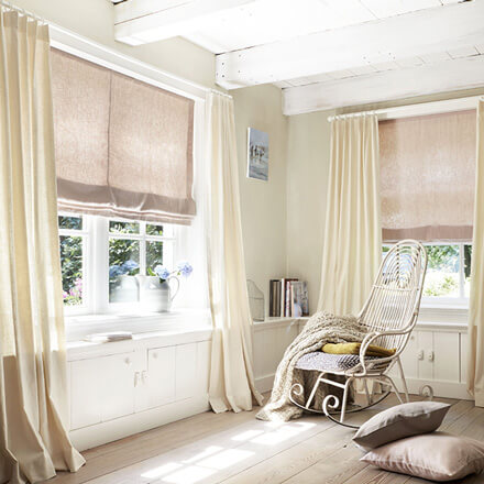 Blickdichte Gardinen nach Maß für Ihr Fenster - Jetzt online kaufen