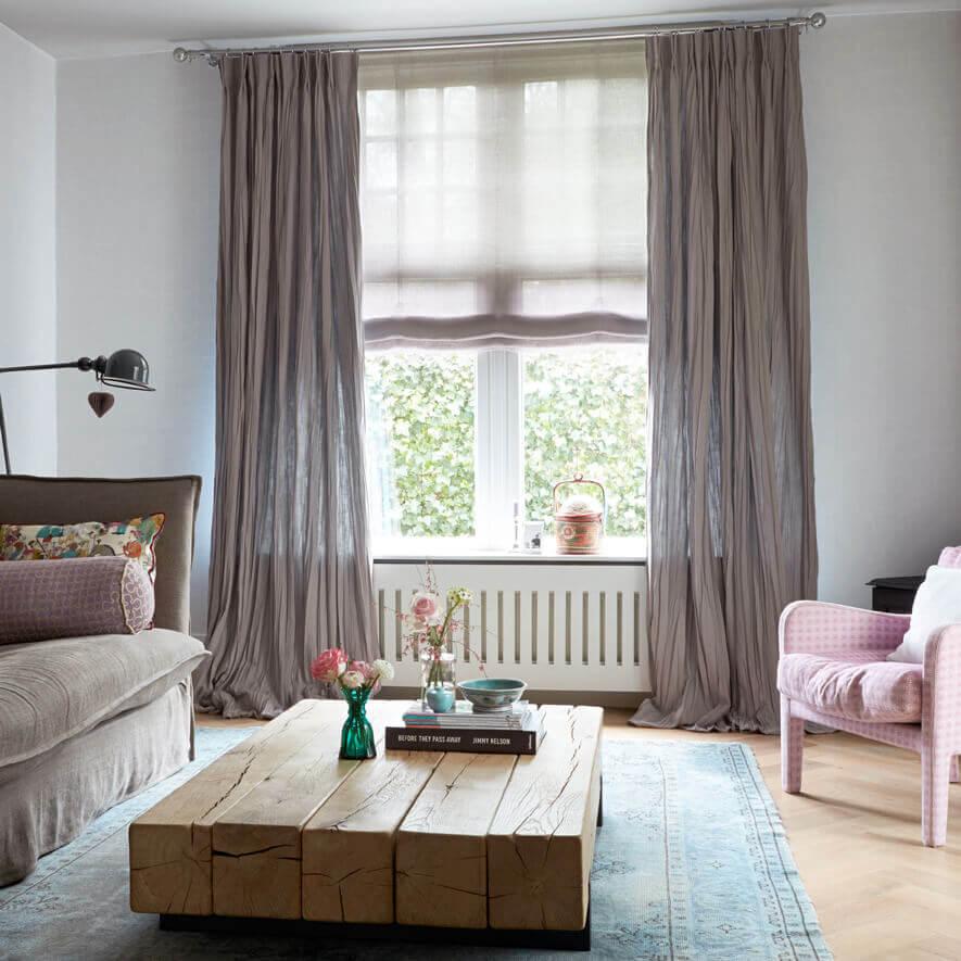 gardine mit smokband nach ma smokband gardinen bei jaloucity. Black Bedroom Furniture Sets. Home Design Ideas