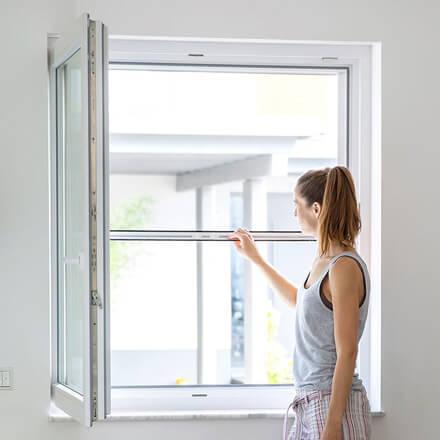 abgeholt echte Qualität neuesten Stil Insektenschutzrollo für Fenster - Im Innen- Außen- & Dachbereich
