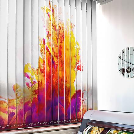 bedruckte lamellenvorh nge creativprint oder individualdruck. Black Bedroom Furniture Sets. Home Design Ideas