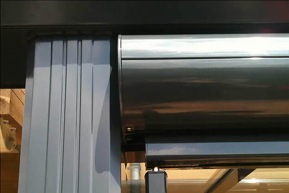 Fallarmmarkise Arco F Kassette Detail