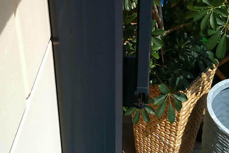 Fallarmmarkise Arco F Detail Fallarmgelenk
