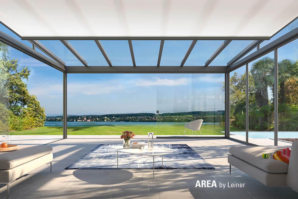 Glassysteme AREA EXCLUSIV Unterglasmarkise