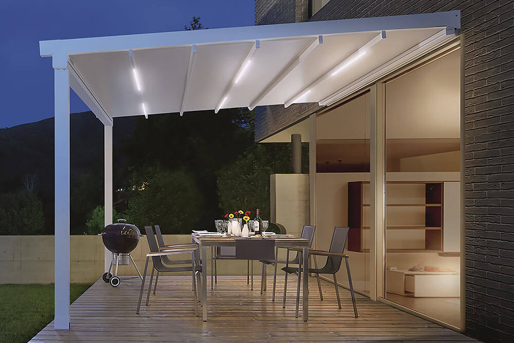 Pergola SUNRAIN L LED