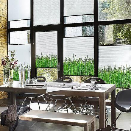 plissees individuell bedruckt riesige farb musterpaletten. Black Bedroom Furniture Sets. Home Design Ideas