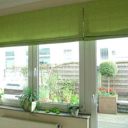 Hervorragend Raffrollo für Balkontür, Terrassentür & Fenster mit 5 Jahren Garantie BB32