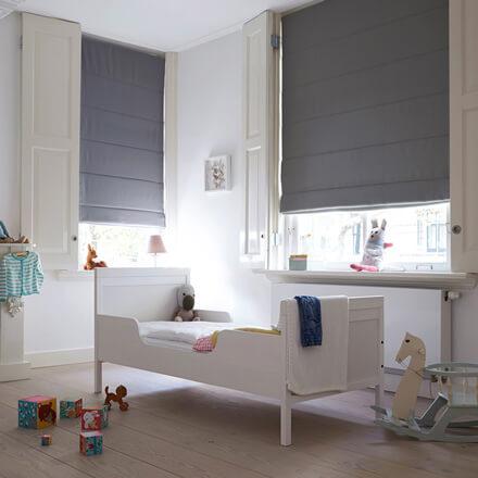 Raffrollo Kinderzimmer – passende Raffgardinen für jedes Kinderzimmer