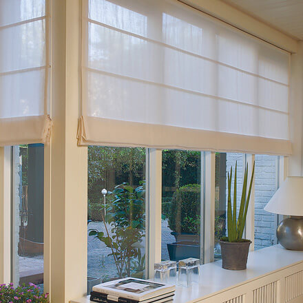 Raffrollo Wohnzimmer Super Design Ideen 7 Raffrollos Raffrollo ...