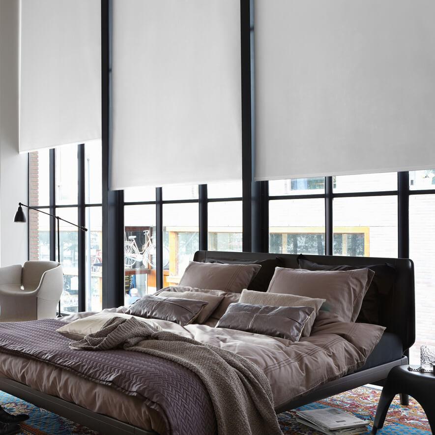 elektrische rollos bedienung innen per schalter oder fernbedienung. Black Bedroom Furniture Sets. Home Design Ideas