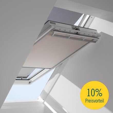 Beliebt VELUX® Hitzeschutz-Markisen - Hitze- & Sonnenschutz für Dachfenster DD12